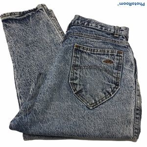 Chic Sz 13  Acid Jeans High Waist Tapered Womens